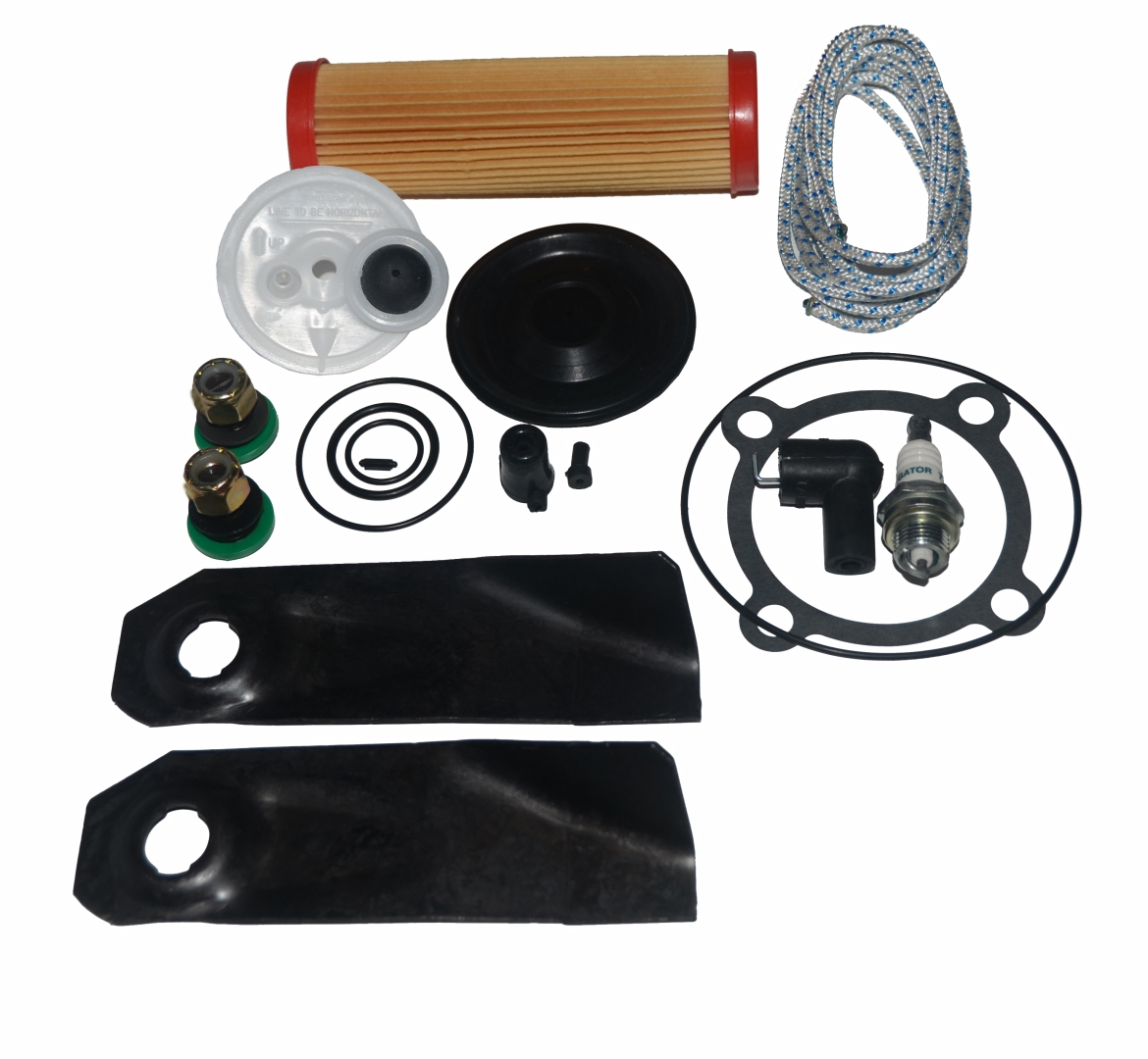 Victa 2 Stroke Service Kit With Diaphragm Fuel Line and Tap